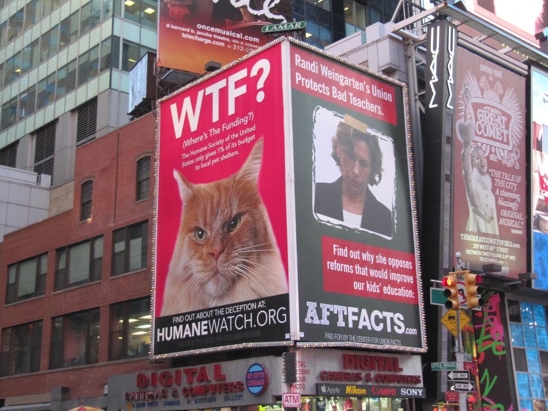Randi Times Square